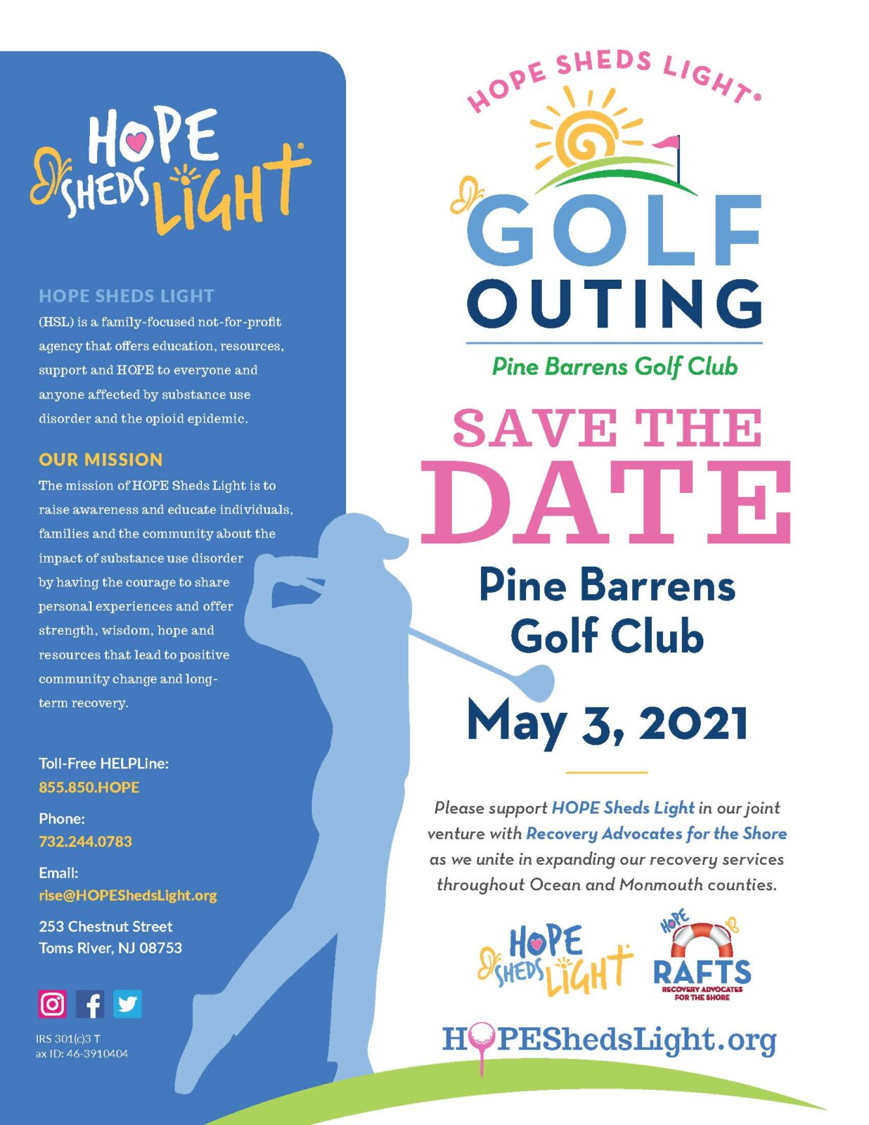 Golf Outing - Save the Date