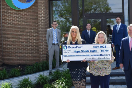 HOPE Sheds Light receives grant from OceanFirst Foundation
