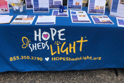 HOPE Sheds Light hosted a Family Barbecue on June 19.