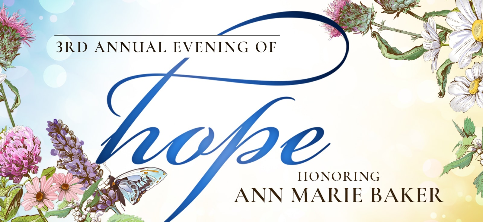 3rd Annual Evening of HOPE