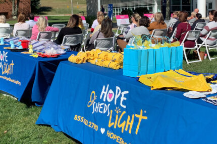 HOPE Sheds Light embraces the journey to inspire others